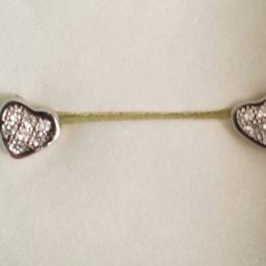 Inlaid Heart Earrings